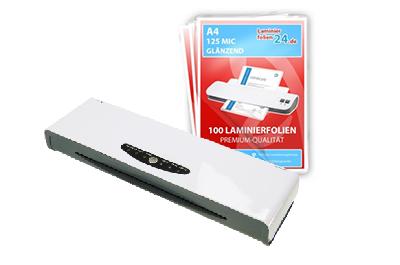 Laminiergerät A3 XLam 340 + A4, 2 x 125 Mic, glänzend